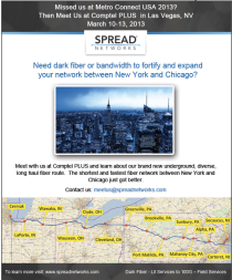 Missed Spread Networks at Metro Connect?