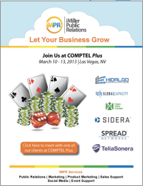 Meet iMPR Clients at Comptel PLUS 2013